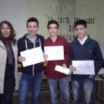 Gran logro de alumnos del Instituto Marianista San Agustín en la Justa del Saber del BICENTENARIO.